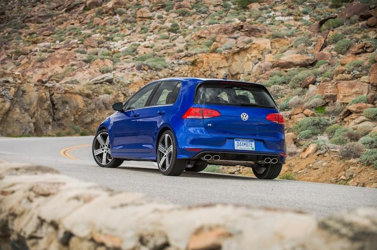 2015 Volkswagen Golf R Rear Three Quarter