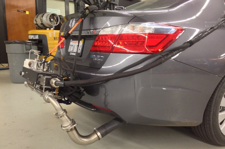 2014 Honda Accord Hybrid Touring MPG Testing