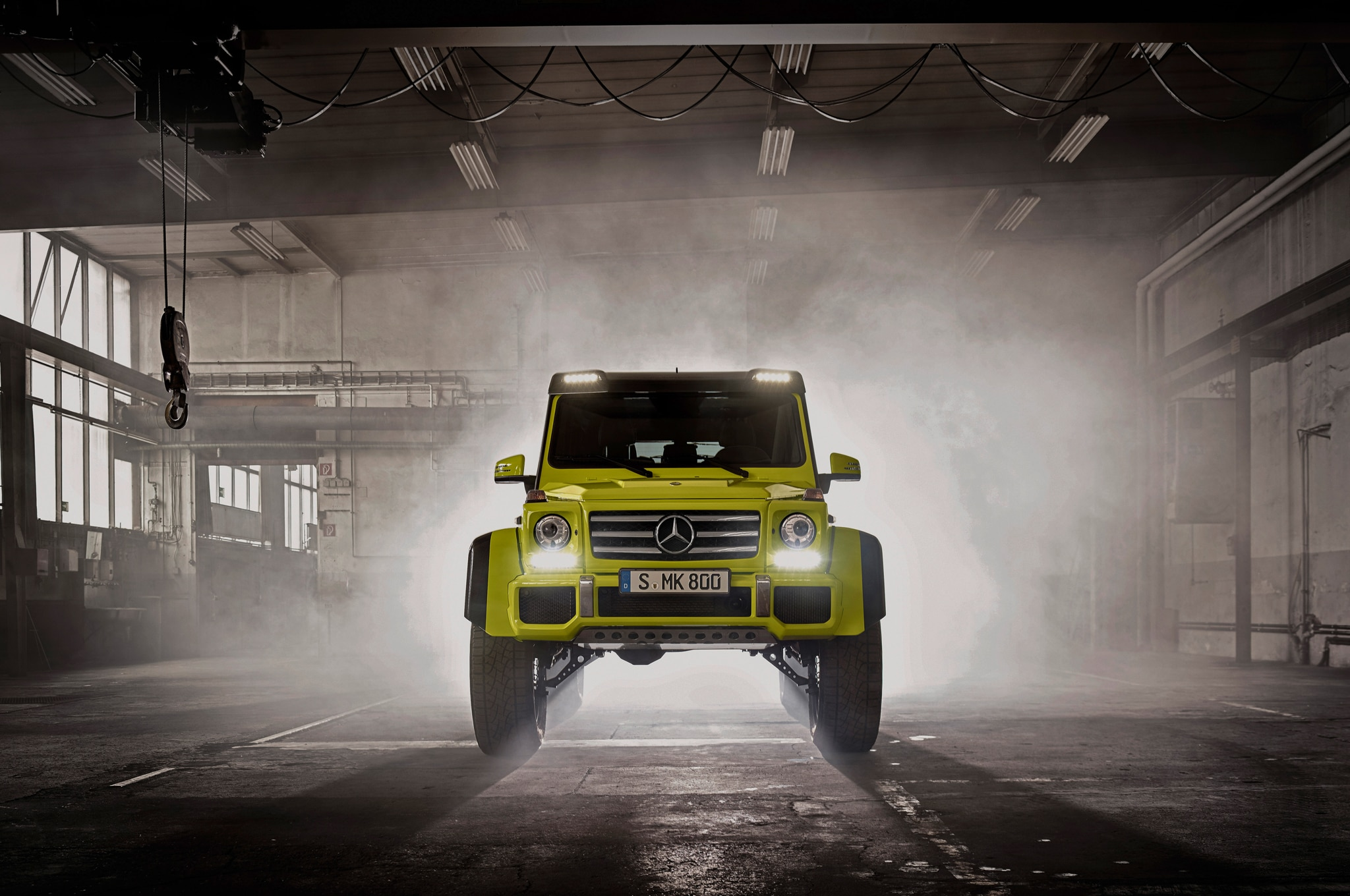 2016 Mercedes-Benz G500 4x4-2 Doubles Ground Clearance