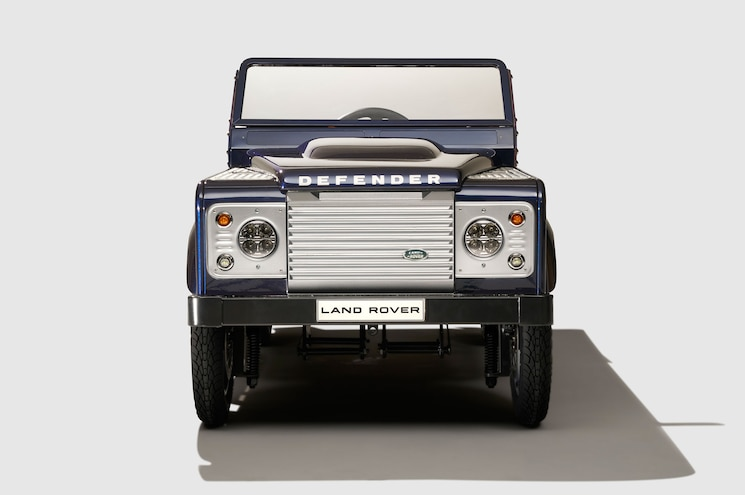 Land Rover Defender Pedal Car Front View