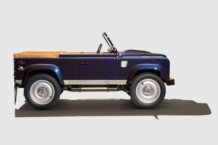 Land Rover Defender Pedal Car Side View