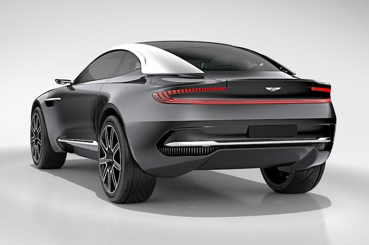 Aston Martin DBX Concept Rear Three Quarter Studio