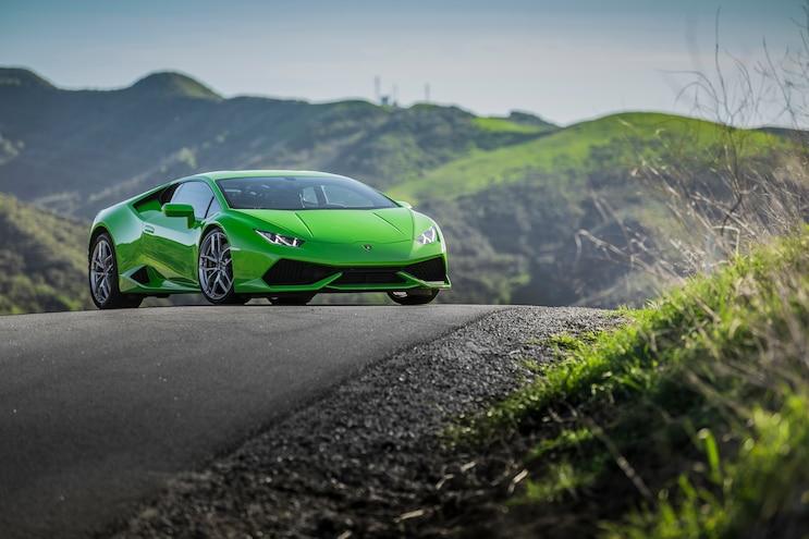 2014 Lamborghini Huracan Front Three Quarter