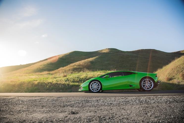 2014 Lamborghini Huracan Side Profile