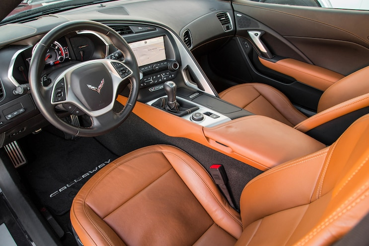 2015 Callaway Chevrolet Corvette SC627 Interior View