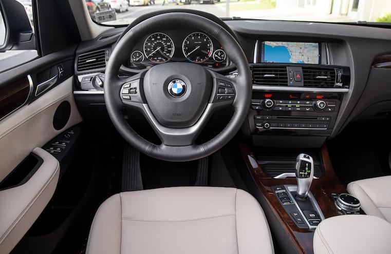 2015 BMW X3 XDrive28i Cockpit