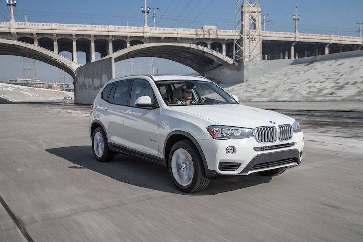 2015 BMW X3 XDrive28i Front Three Quarter In Motion 03
