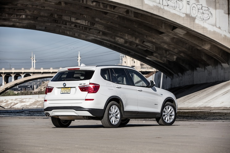 2015 BMW X3 XDrive28i Rear Three Quarter