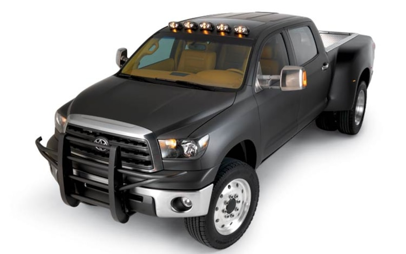 custom Toyota Tundra HD front View