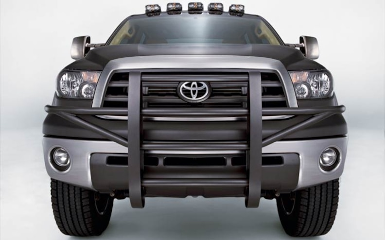 custom Toyota Tundra HD front Grille View