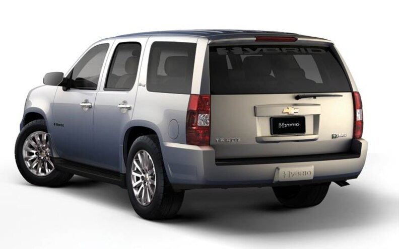 2008 Chevrolet Tahoe Hybrid 2 Mode Rear View Photo Gallery 10 Photos