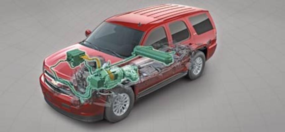 First Look 2008 Chevrolet Tahoe Hybrid 2 Mode