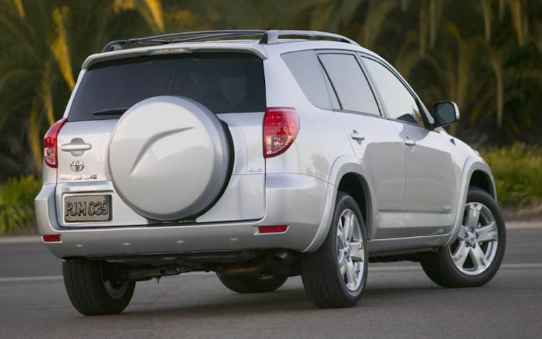 2008 Toyota Rav4 rear View