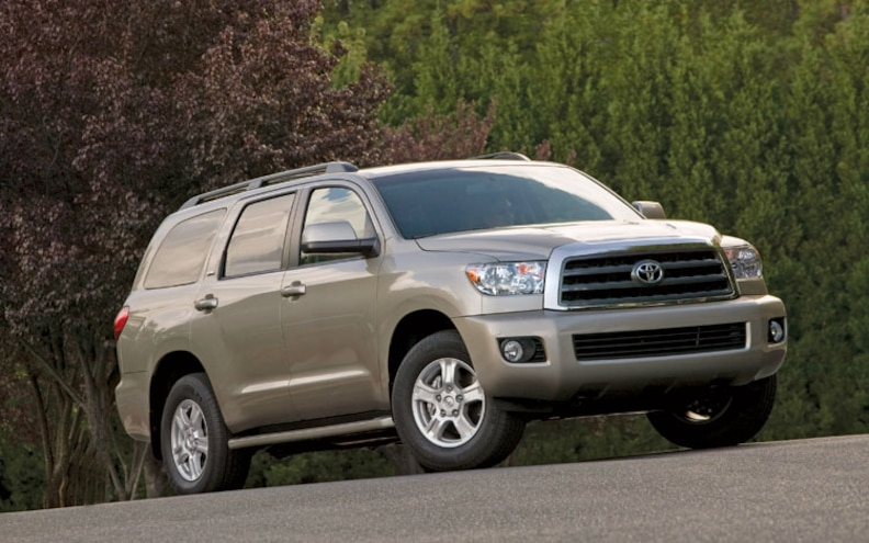 2008 Toyota Sequoia SR5 front View