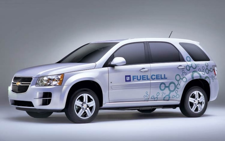 2007 Los Angeles Auto Show Hyrids chevy Fuel Cell