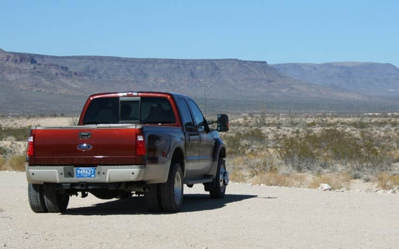 2008 Ford F450 4x4 King Ranch rear View