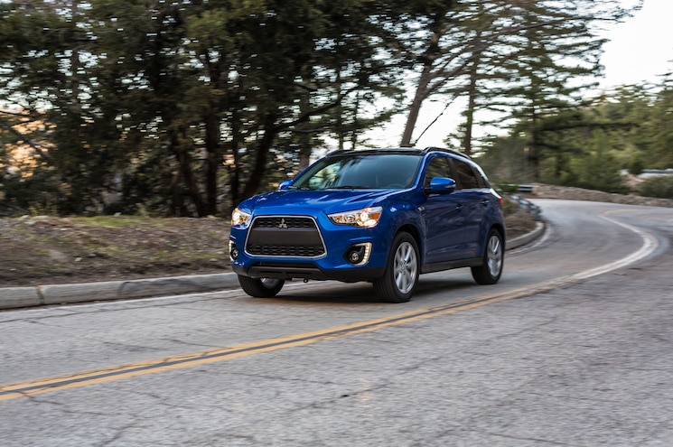 2015 Mitsubishi Outlander Sport GT 24L Front Three Quarter In Motion