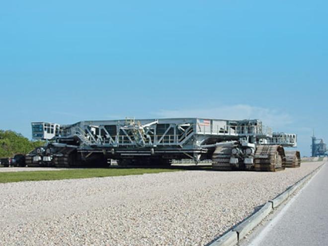 nasa Diesel Shuttle Crawler test Base