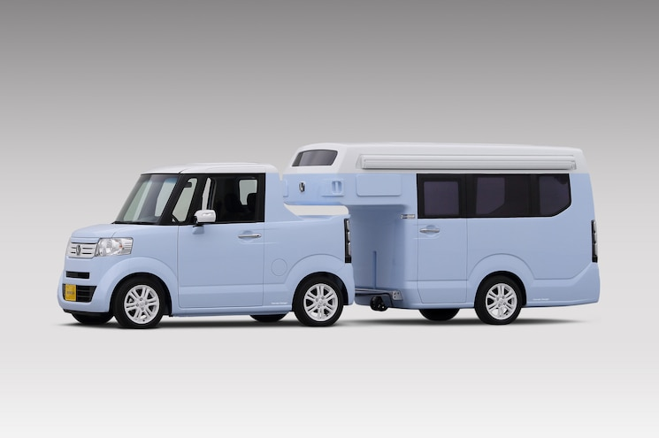 Mini-Campin': Honda Shows Pint-Sized N-Truck/N-Camp Concept