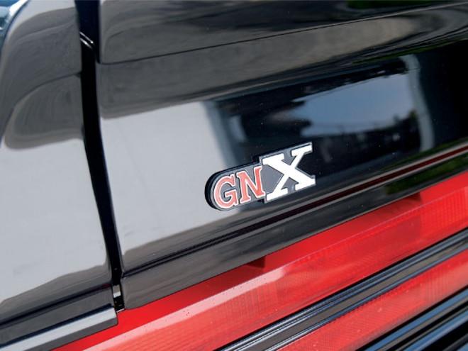 1982 Buick Regal gnx Logo