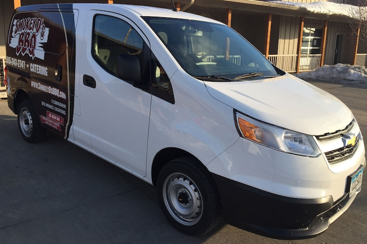 2015 Chevrolet City Express Smokey Ds Bbq