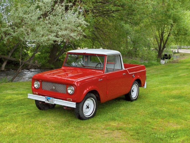 international Scout 1961 Scout 80