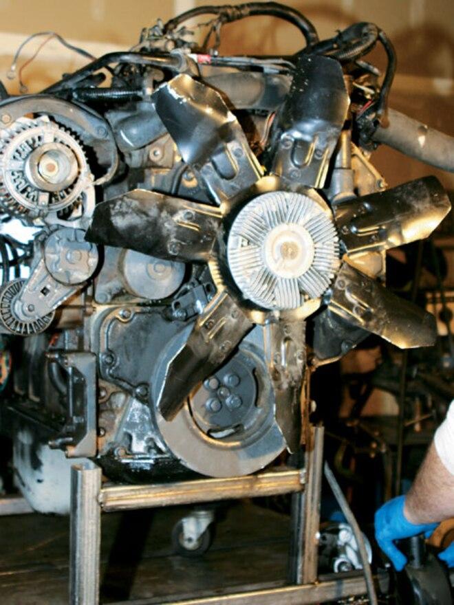 1997 Dodge Ram engine