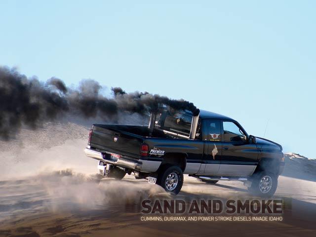 Sand And Smoke - Cummins, Duramax, and Powerstroke Invade