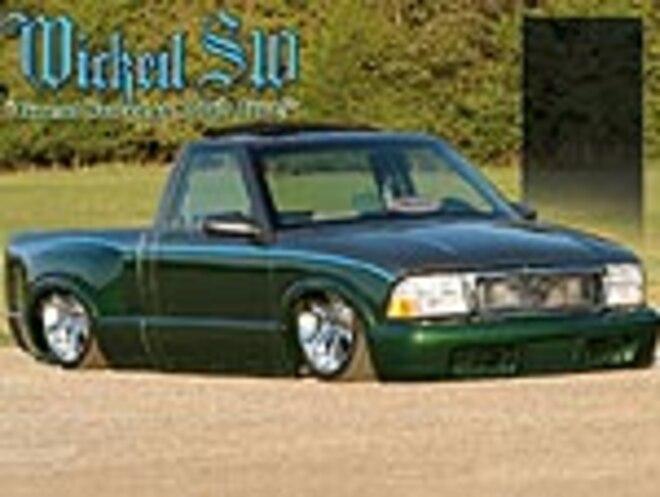 custom 1997 gmc sonoma feature truck mini truckin magazine truck trend