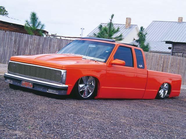 Custom 1985 GMC S15 Truck - Laid '85 Photo & Image Gallery