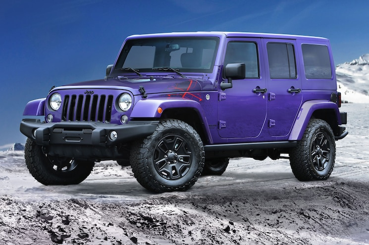 Jeep Debuts Wrangler Backcountry, Grand Cherokee SRT Night in L.A.
