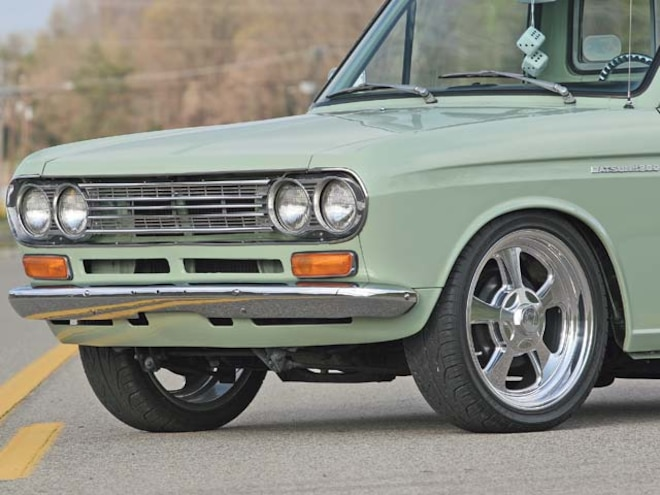 1968 Datsun 521 - Feature Truck - Mini Truckin' Magazine