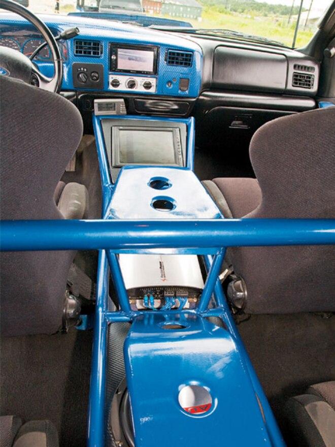 2003 Ford F250 interior