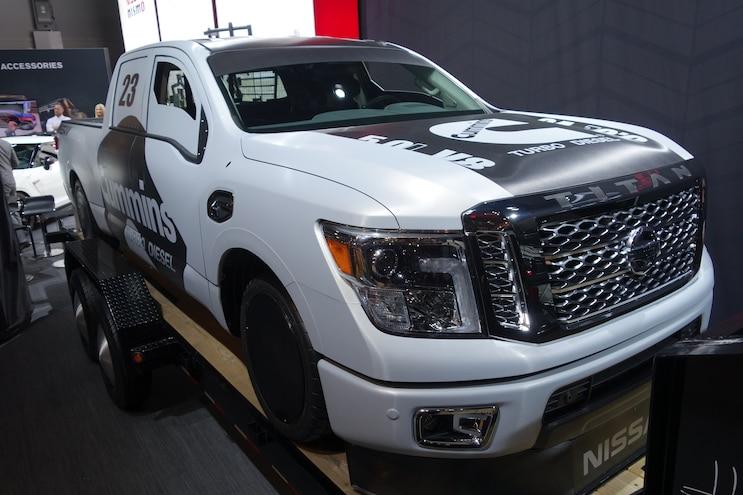 037 Baddest Diesel Trucks SEMA 2015