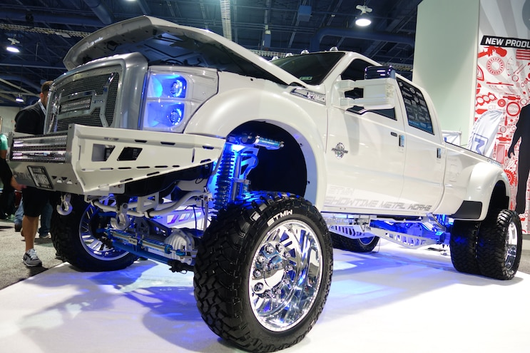 Rad Rigs - Highlighting the Baddest Diesel Trucks at the 2015 SEMA Show