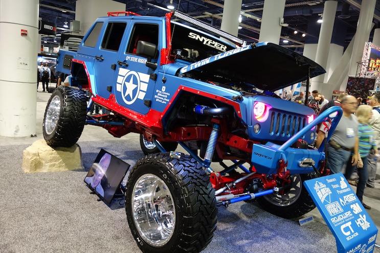 030 Baddest Diesel Trucks SEMA 2015