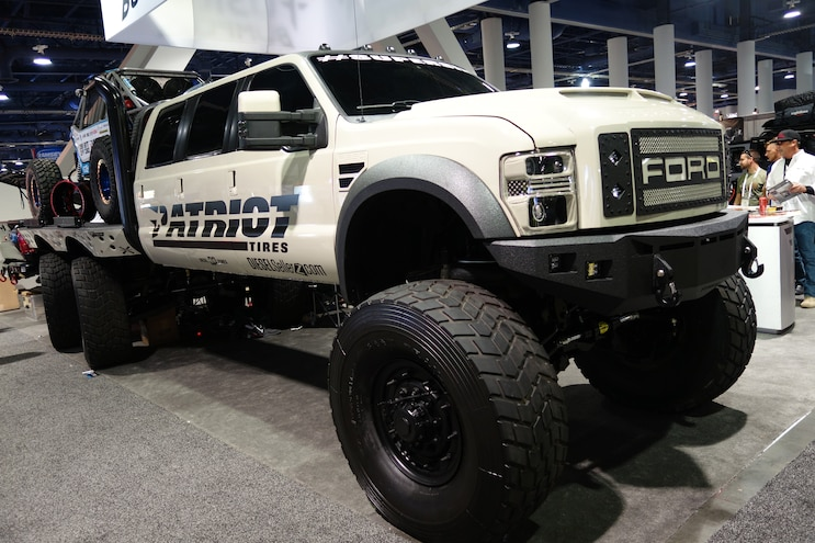 001 Baddest Diesel Trucks SEMA 2015