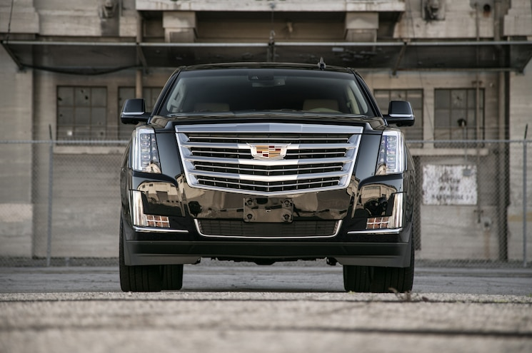 2015 Cadillac Escalade Platinum Front End