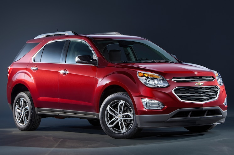 2016 Chevrolet Equinox LTZ Front Three Quarters