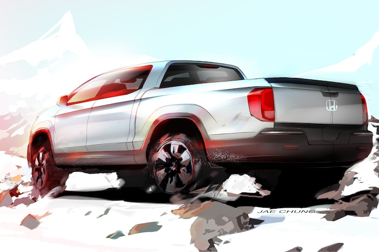 2017 Honda Ridgeline To Be Previewed At 2015 SEMA Show