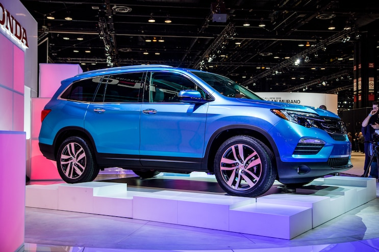 Honda Dishes Details on Powertrain, Features for 2016 Pilot