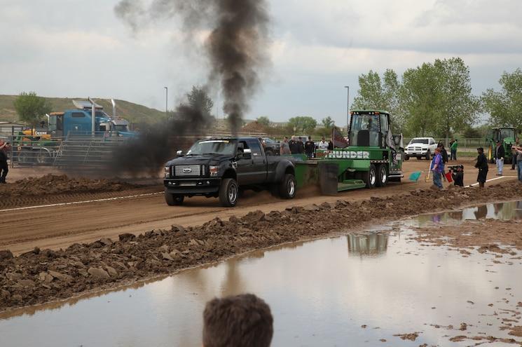 Diesel Power Challenge 2015 Day 3 - Sled Pull