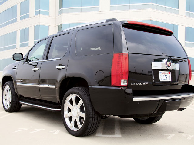 2007 Cadillac Escalade rear View