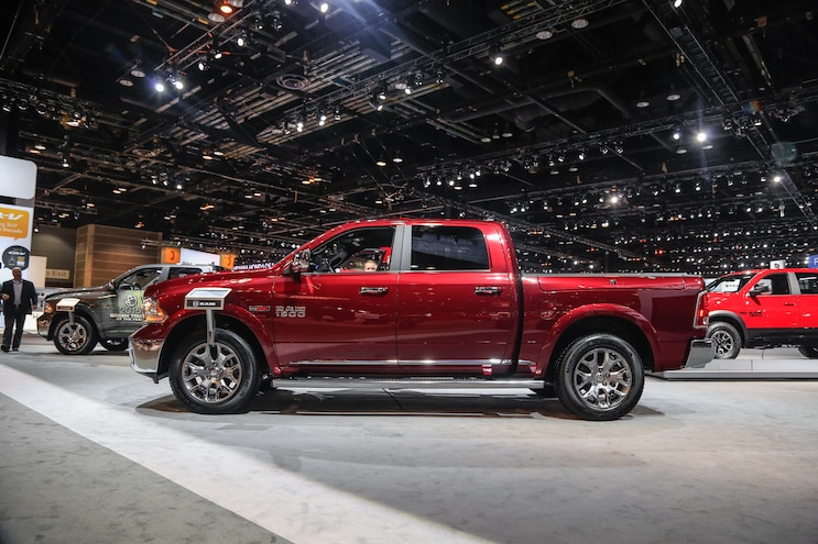 2015 Ram 1500 Laramie Limited Side