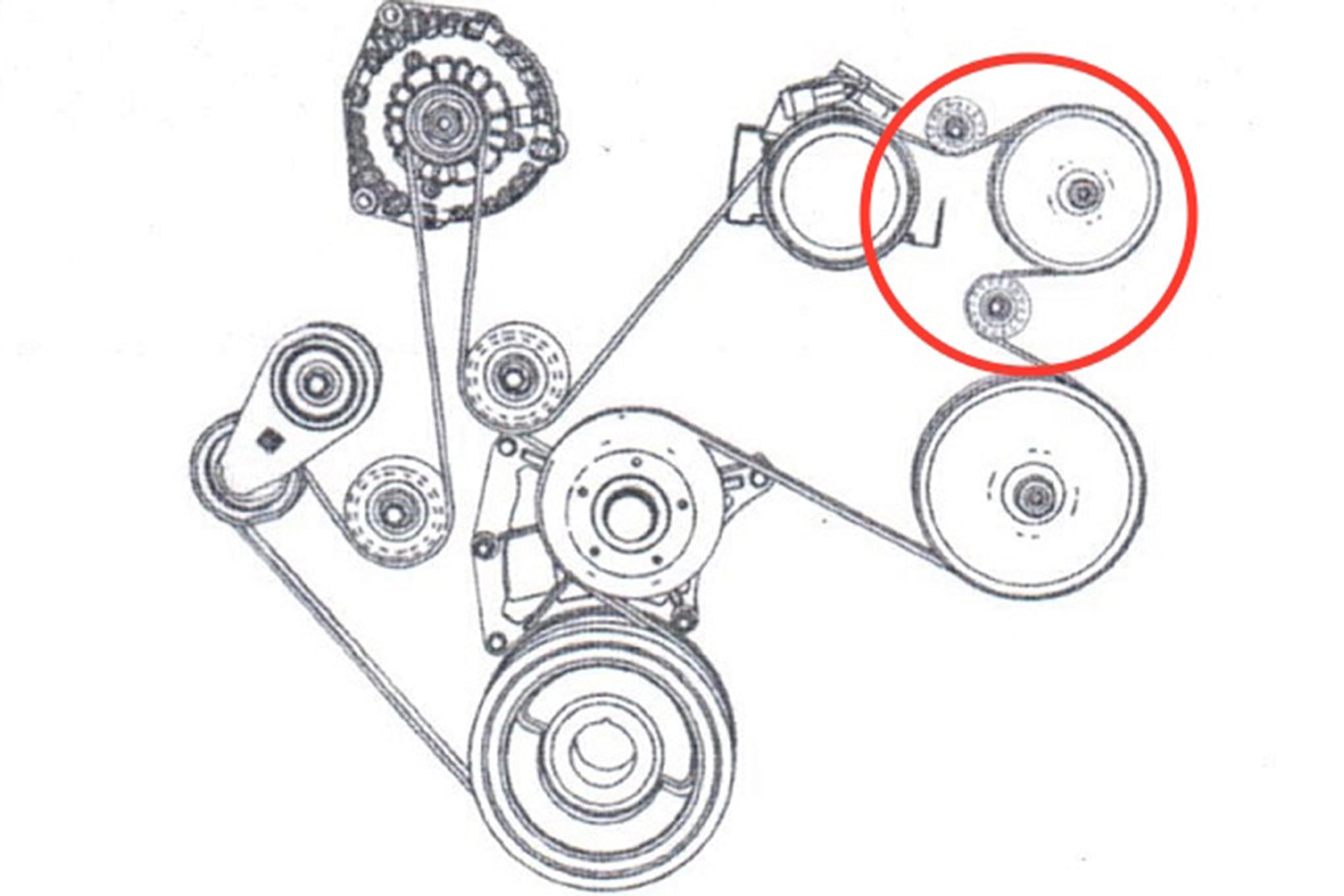 33 6 6 Duramax Serpentine Belt Diagram