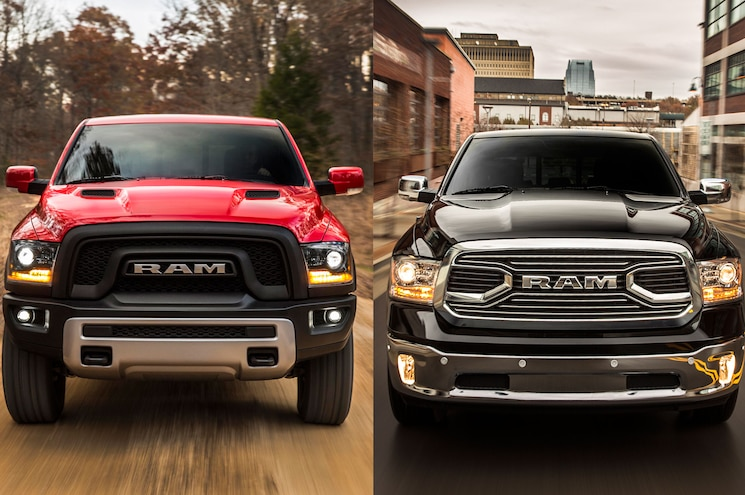 Which One: Ram Laramie Limited or Ram Rebel?