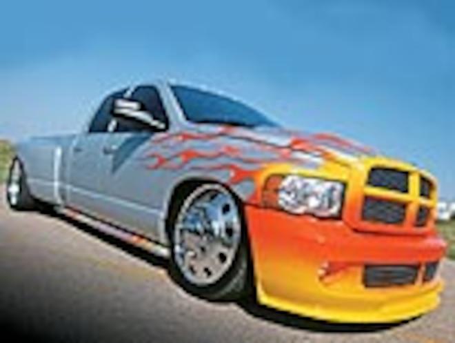 Custom 2004 Dodge Ram 3500 Dualie - Six-Wheeler