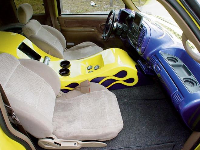 1995 Chevrolet Silverado custom Interior