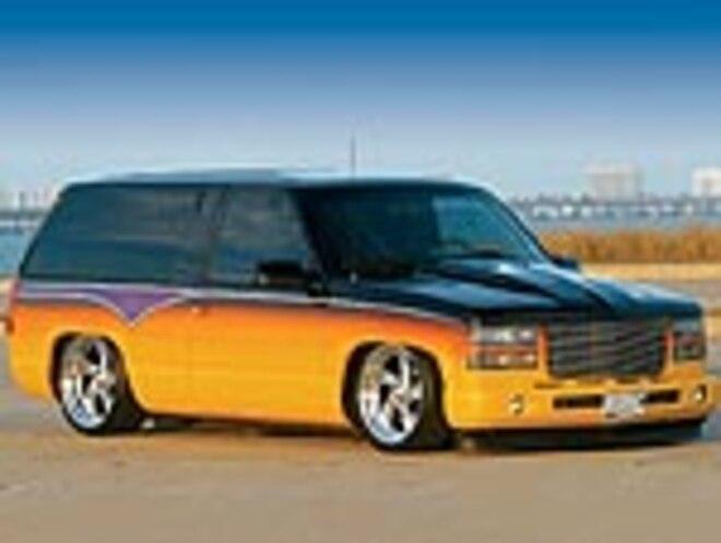 Custom 1996 Chevrolet Two Door Tahoe Garage Effort
