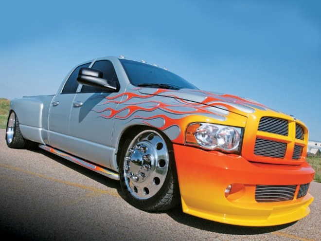 2004 dodge ram 3500 dualie custom truck sport truck magazine truck trend